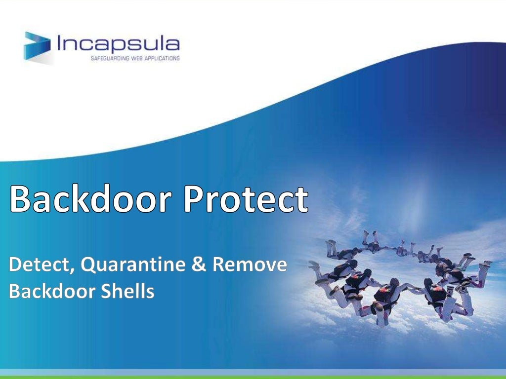 Backdoor protect - Detect, Quarantine and Remove Backdoor Shells