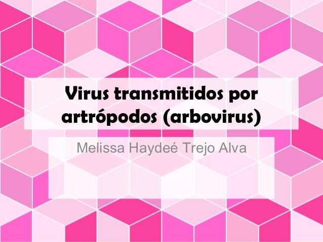 virus transmitidos por artropodos