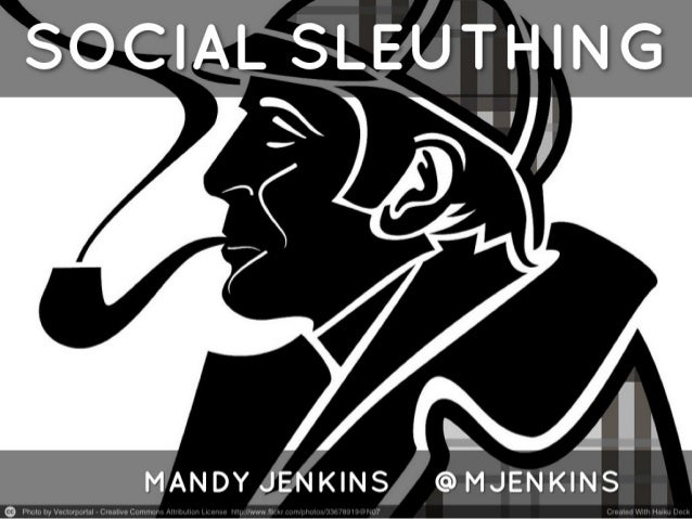 Finding and Backgrounding Sources Using Social Media