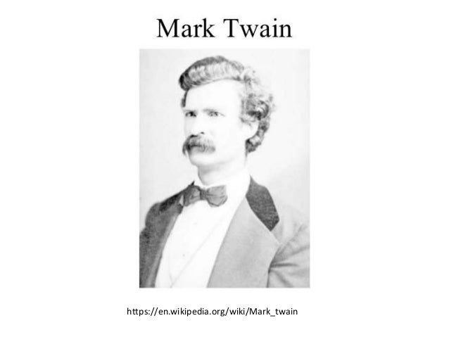 Background material for mark twain and tom sawyer