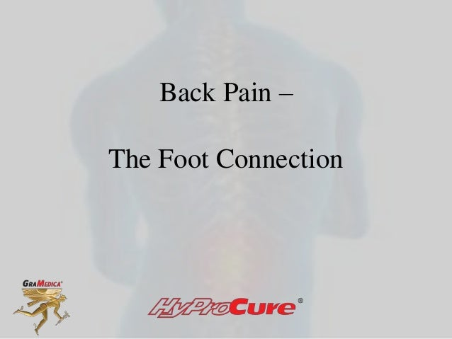 Back Pain –The Foot Connection