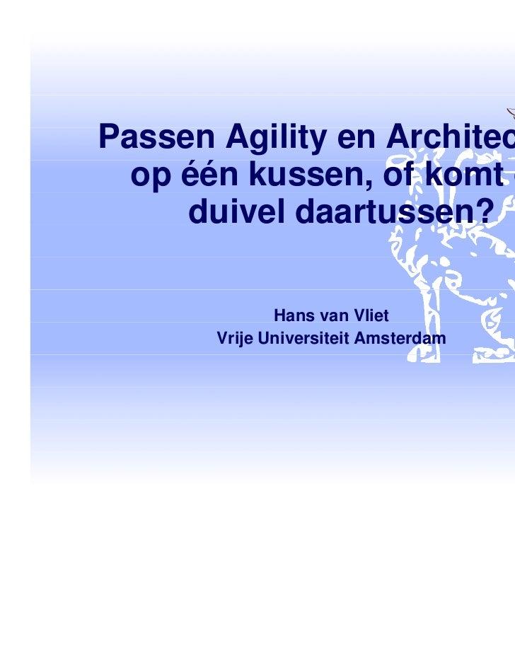 Devnology Back to School IV - Agility en Architectuur