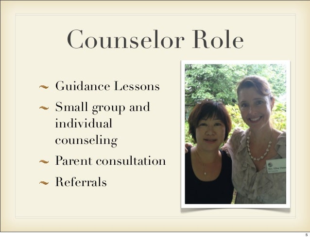 an overview of an elementary school counselor Center for school counseling outcome middle school counseling research: a resource for school counselors elementary school an overview of psychotherapy.