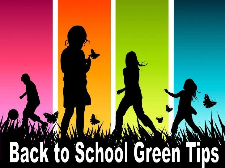 Back to School Green Tips