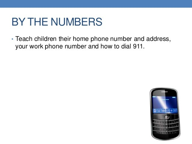 Home Safety For Children Children Their Home Phone