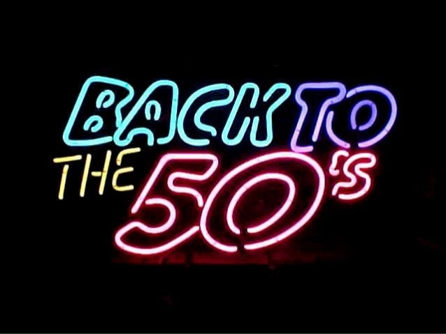 BACK TO THE 50'S