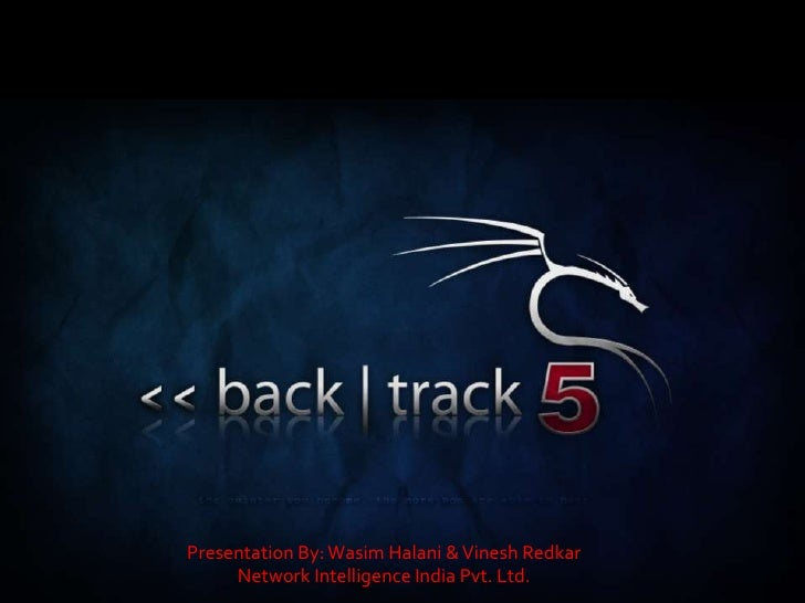 Presentation By: Wasim Halani & Vinesh Redkar     Network Intelligence India Pvt. Ltd.