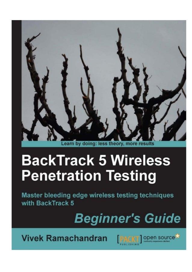 Backtrack 5 wireless penetration testing castellano