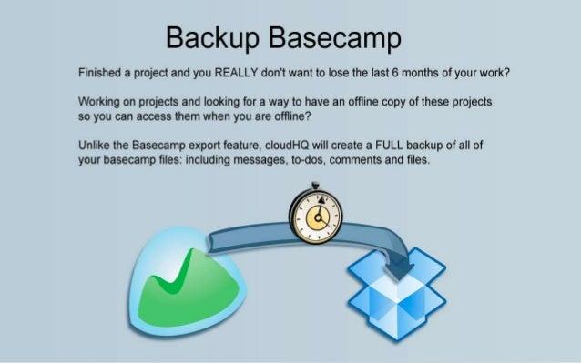 Backup Basecamp