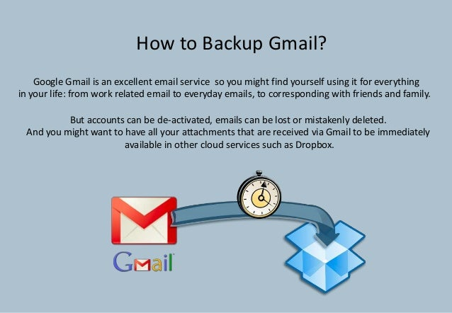 Google Gmail is an excellent email service so you might find yourself using it for everythingin your life: from work relat...