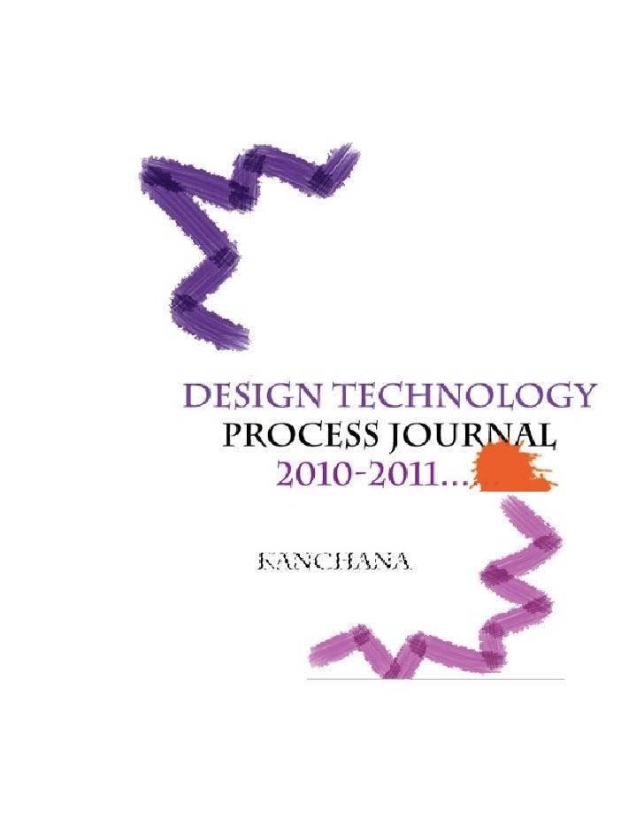 Kanchana Jaishankar - Process Journal