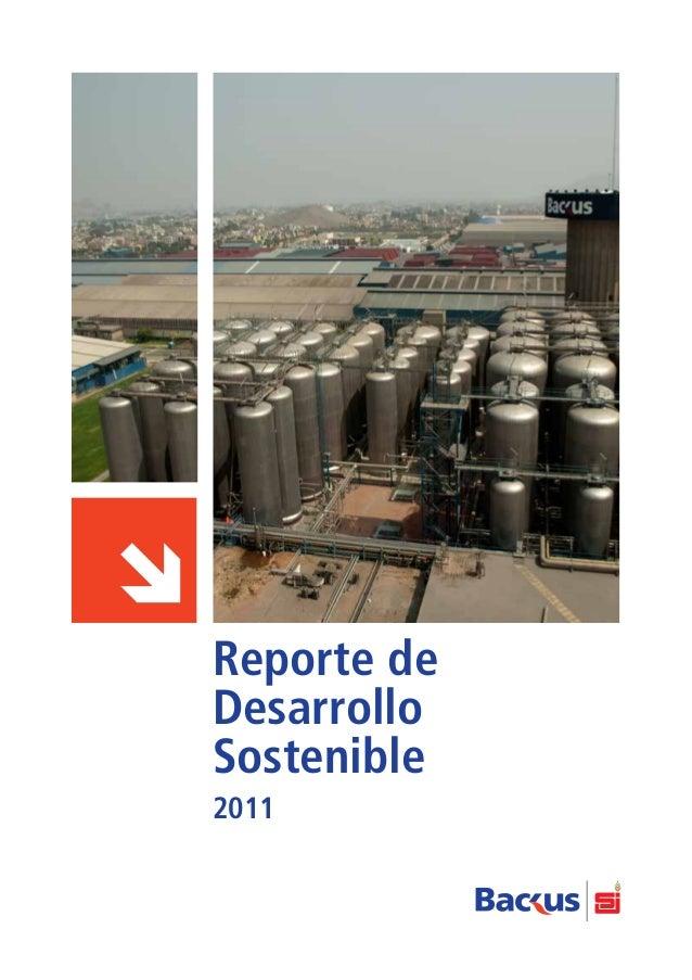 Reporte de Desarrollo Sostenible 2011
