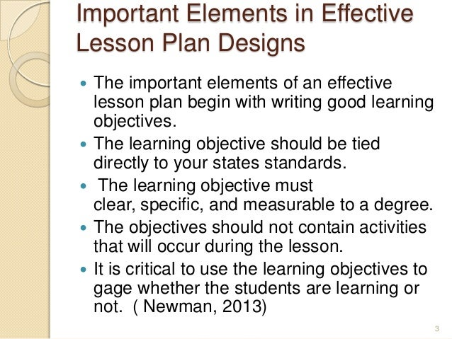 Essay writing lesson plan objectives