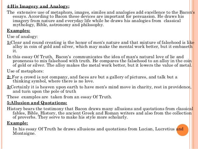 Act essay literature examples of metaphor