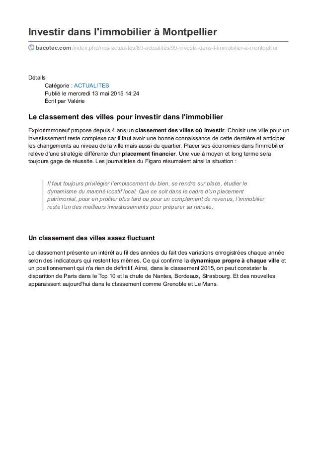 Investir dans l'immobilier à Montpellier bacotec.com /index.php/nos-actualites/89-actualites/99-investir-dans-l-immobilier...
