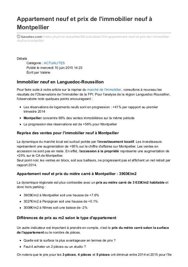 Appartement neuf et prix de l'immobilier neuf à Montpellier bacotec.com /index.php/nos-actualites/89-actualites/104-appart...