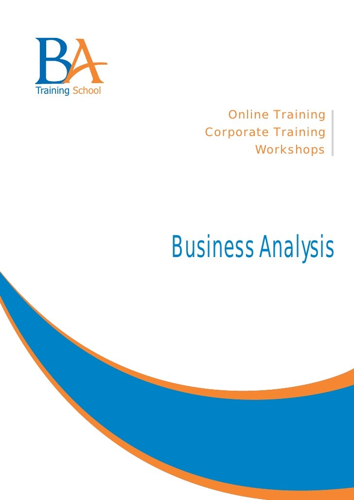 Business Analyst job training - complete course information