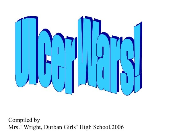 Compiled by Mrs J Wright, Durban Girls' High School,2006