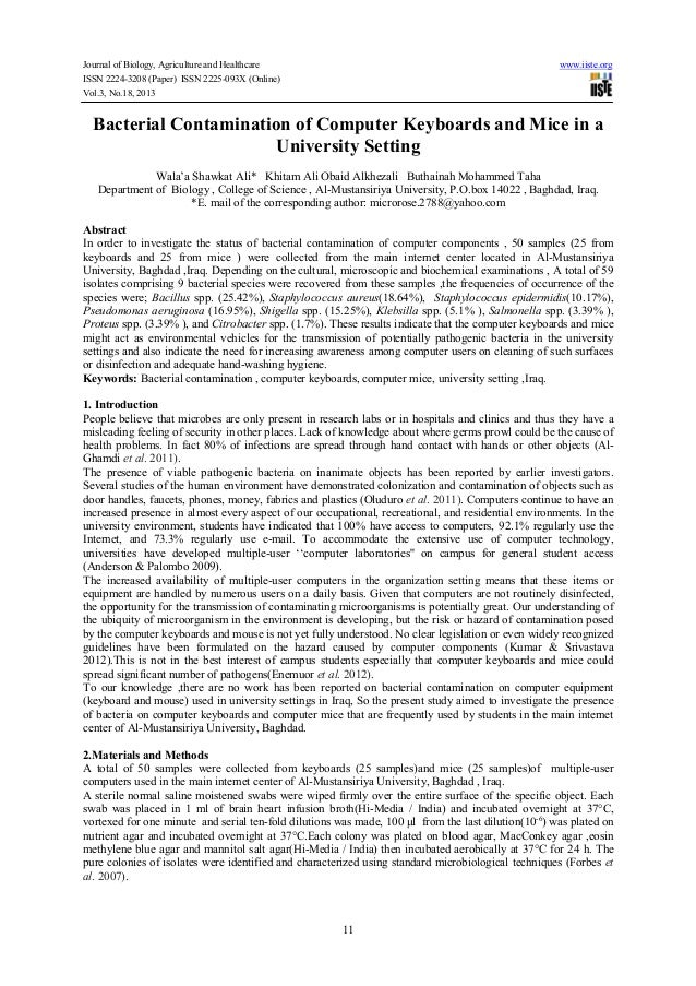 Journal of Biology, Agriculture and Healthcare ISSN 2224-3208 (Paper) ISSN 2225-093X (Online) Vol.3, No.18, 2013  www.iist...