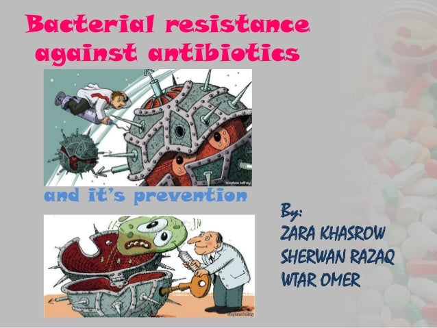 Bacterial resistanceagainst antibioticsand it's preventionBy:ZARA KHASROWSHERWAN RAZAQWTAR OMER