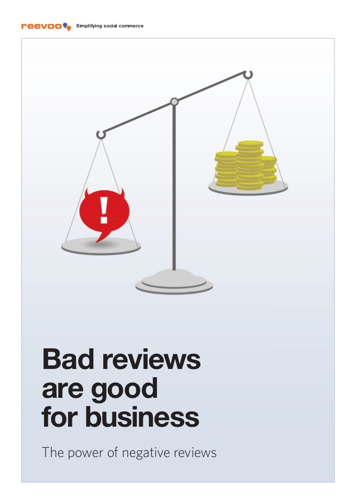 Research: Bad reviews are good for business