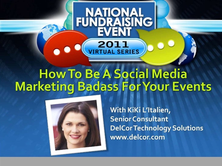 How to Be a Social Media Badass for Events