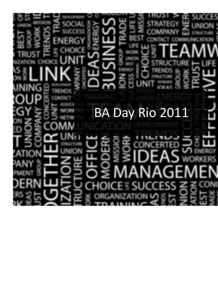 BA Day 2011 - Abertura