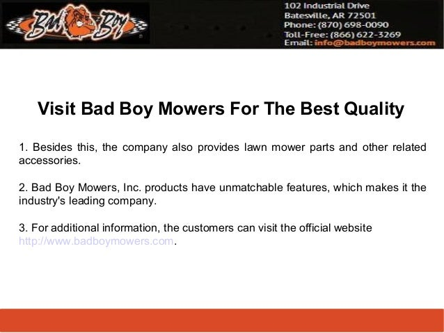 Lawn Mower Company Provides Lawn Mower Parts