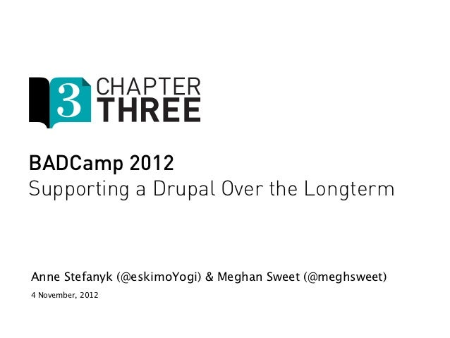 BADCamp 2012- Drupal Support