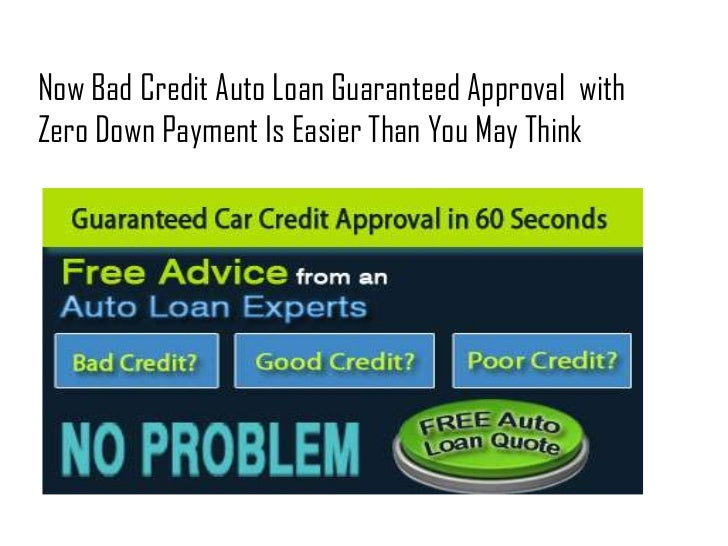 how to get a guaranteed personal loan with bad credit