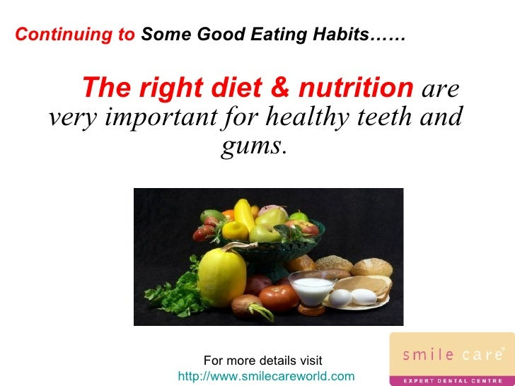 good eating habits versus bad eating habits The good eating habits versus bad eating habits number of americans that suffer from depression, also known as major depressive disorder is increasing all the time.
