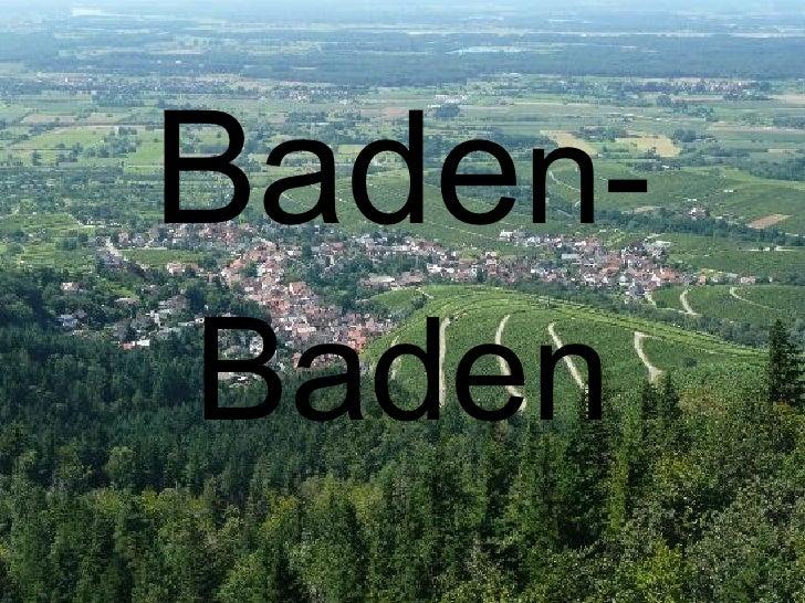 Baden baden j.niem-dominika ilczyna