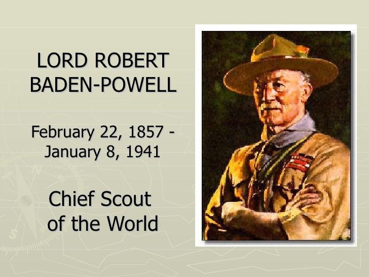 Baden Powell, fondateur du scoutisme