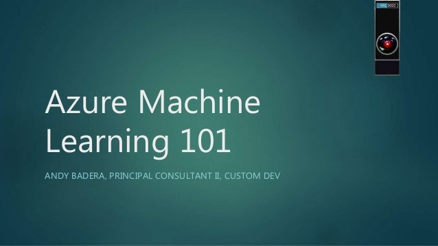 andrew machine learning