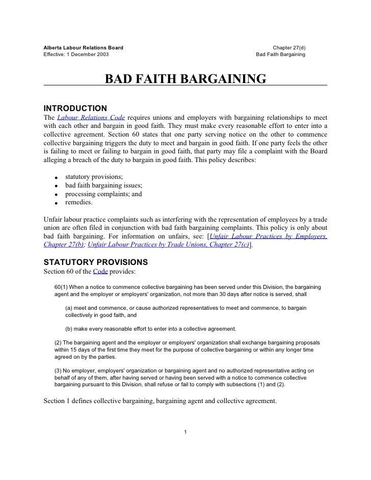 Alberta Labour Relations Board                                                              Chapter 27(d)Effective: 1 Dece...