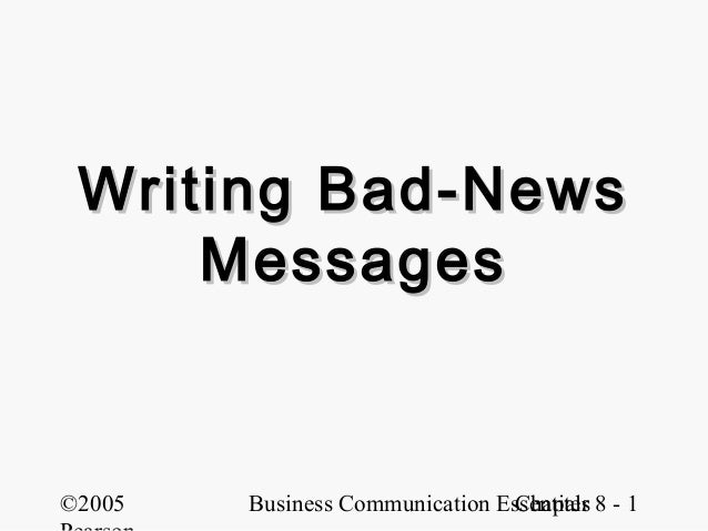 Badnews messages