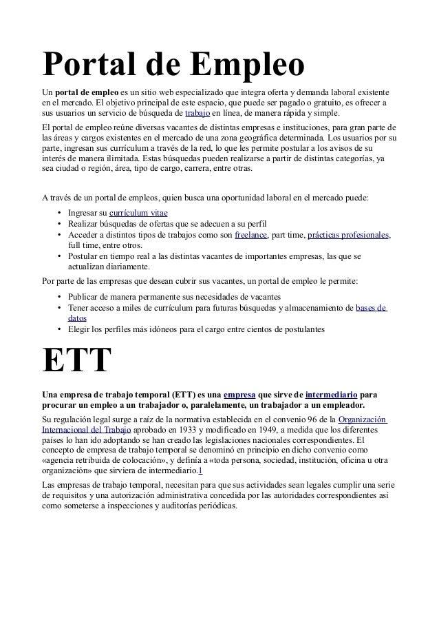 Busqueta activa de empleo for Consulta demanda de empleo