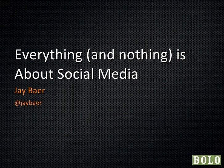 Baer -- Social Super Forum