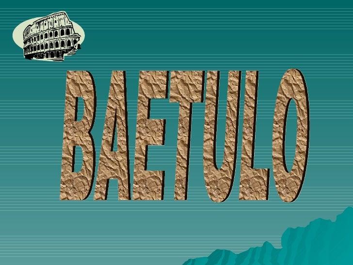 BAETULO