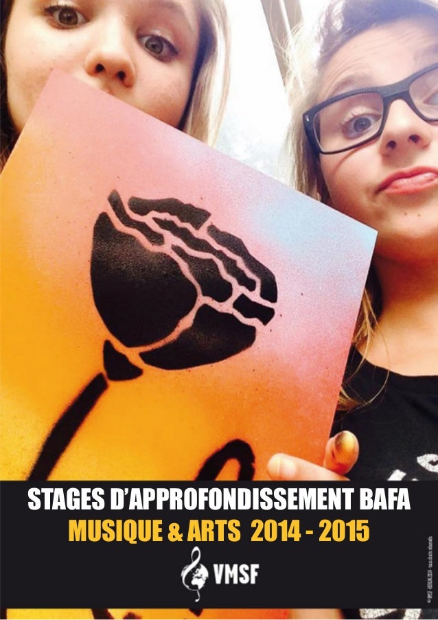 STAGES D'APPROFONDISSEMENT BAFA  MUSIQUE & ARTS 2014 - 2015
