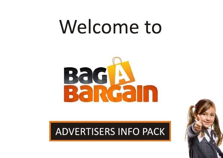 Bag a Bargain Advertiser Presentation
