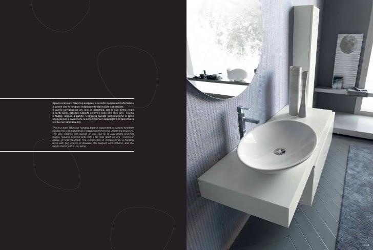 lavabo bagno sospeso 70 : Bagni moderni