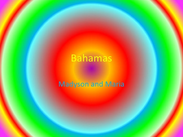 Bahamas m&m