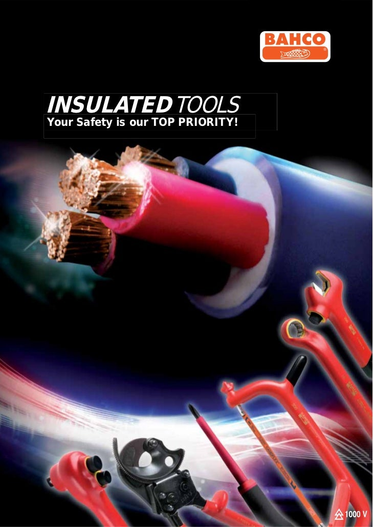 Bahco 1000V Insulated tools