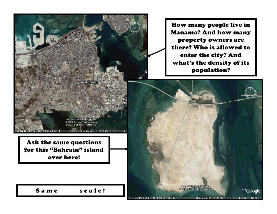 How many people live in                            Manama? And how many                              property owners are  ...