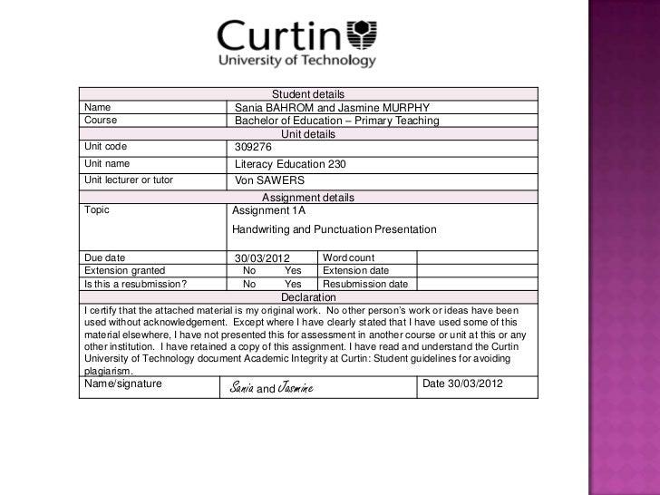 Student detailsName                              Sania BAHROM and Jasmine MURPHYCourse                            Bachelor...