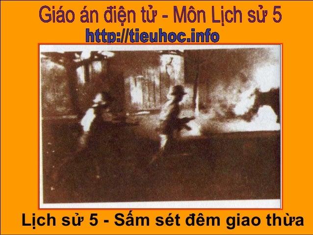 1 Lịch sử 5 - Sấm sét đêm giao thừa