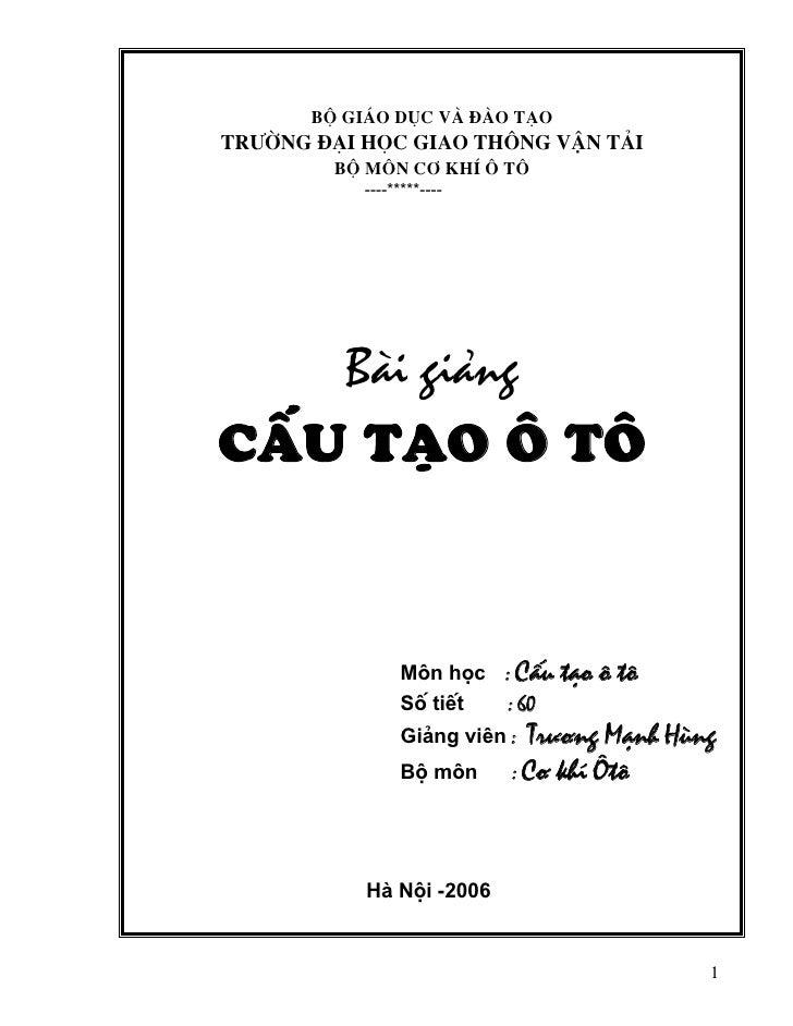 Bai Giang Ctoto