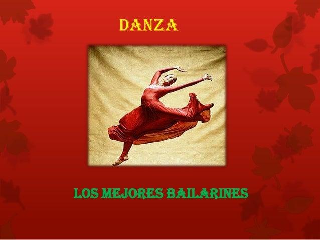 Bailarines en la historia