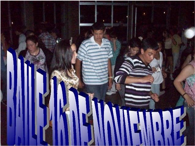 Baile 16 de noviembre